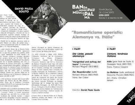14 December 2018 – Romanticisme Operístic